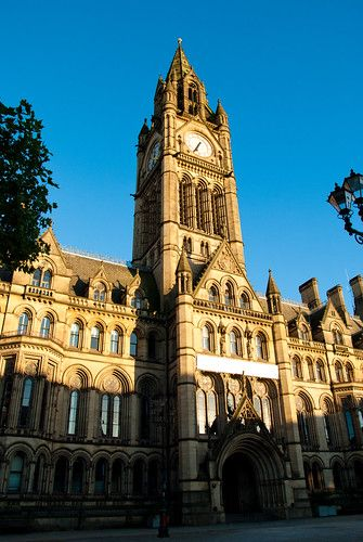 Manchester City Council Town Hall.